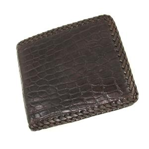 best cheap a1bb3 c53a7 高級皮革系-商品番号025510Wワニ革二つ折財布‐商品詳細ページ ...