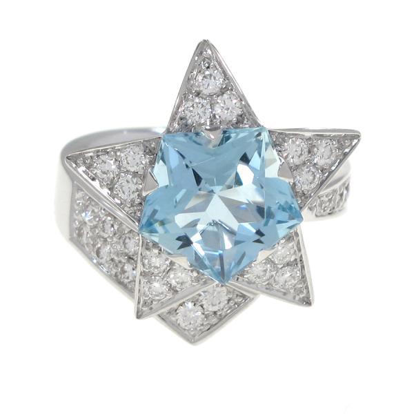 今月の買取実績:シャネル コメットリング/ダイヤモンド&アクアマリン