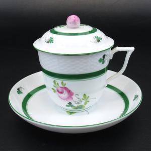 今月の買取実績:ヘレンド ウィーンのバラ カップ&ソーサー