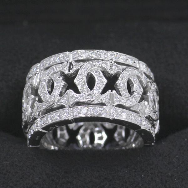 今月の買取実績:カルティエ アントルラセエッジリング/フルダイヤモンド