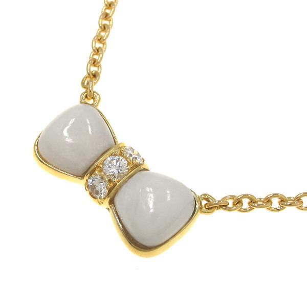 今月の買取実績:ヴァンクリーフ&アーペル ヌーパピヨンネックレス/ダイヤモンド&白サンゴ