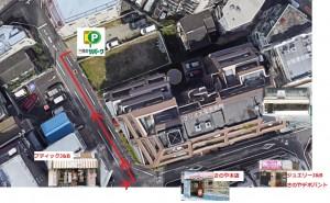 三井リパーク周辺地図